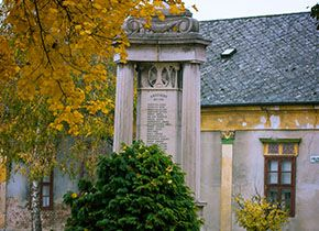 Az első világháborús emlékmű