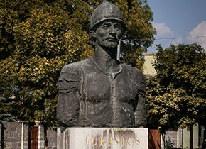 Statue von Juranics Lőrinc