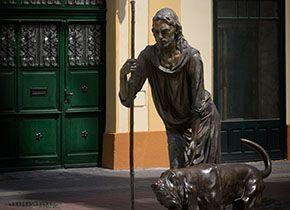 Szent Rókus szobor